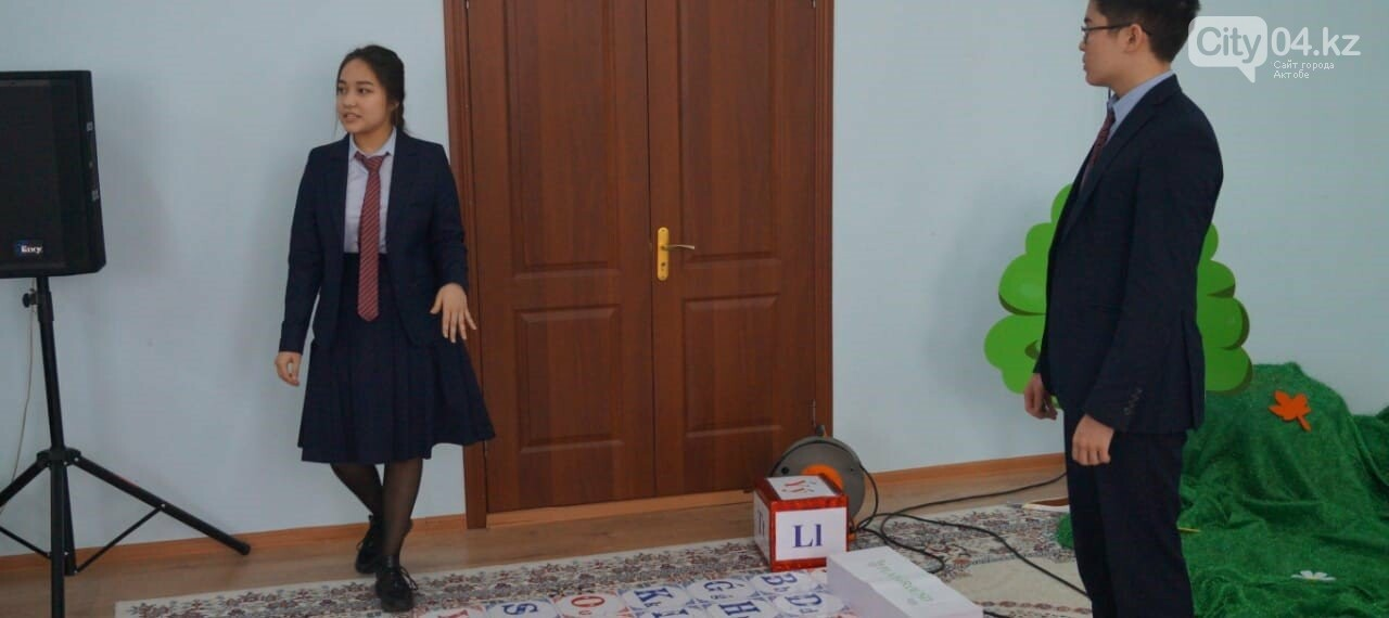 "Ученики НИШ и работники детсада ""Құлагер"" провели презентацию проекта "" PlayGround"", фото-1"