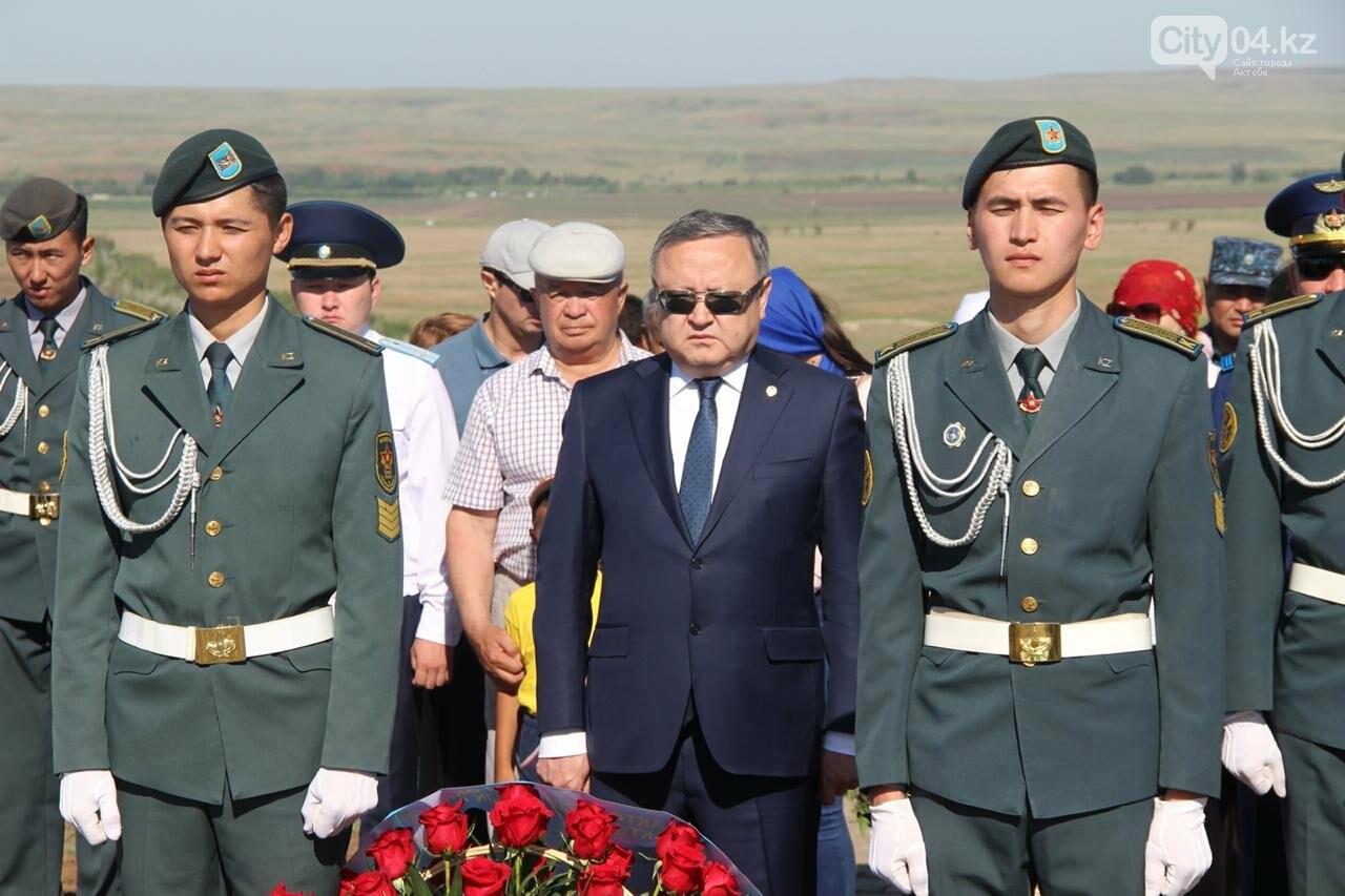 Военнослужащие Актюбинского гарнизона почтили память жертв политических репрессий, фото-2