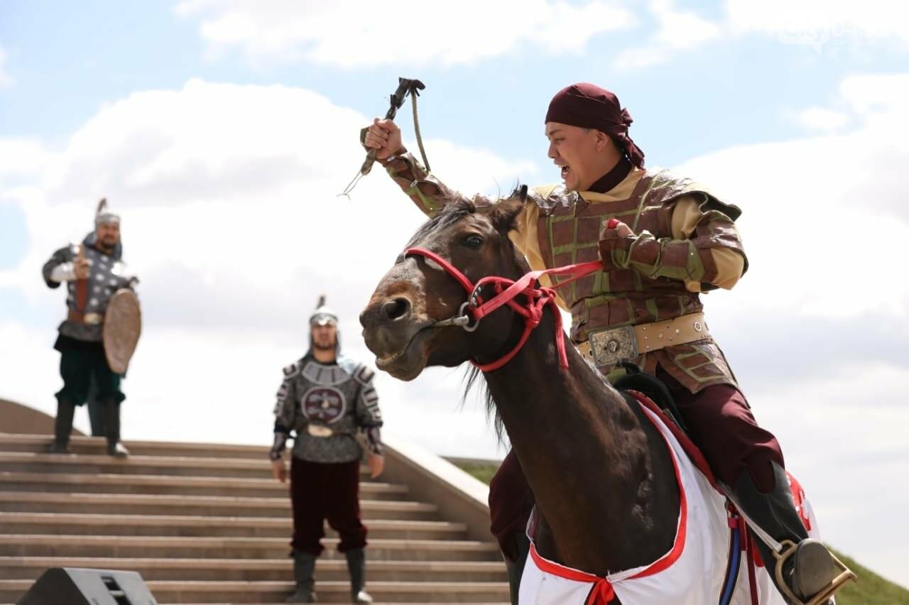 Ақтөбеде Бөкенбай батырдың  ескерткіші ашылды, фото-11