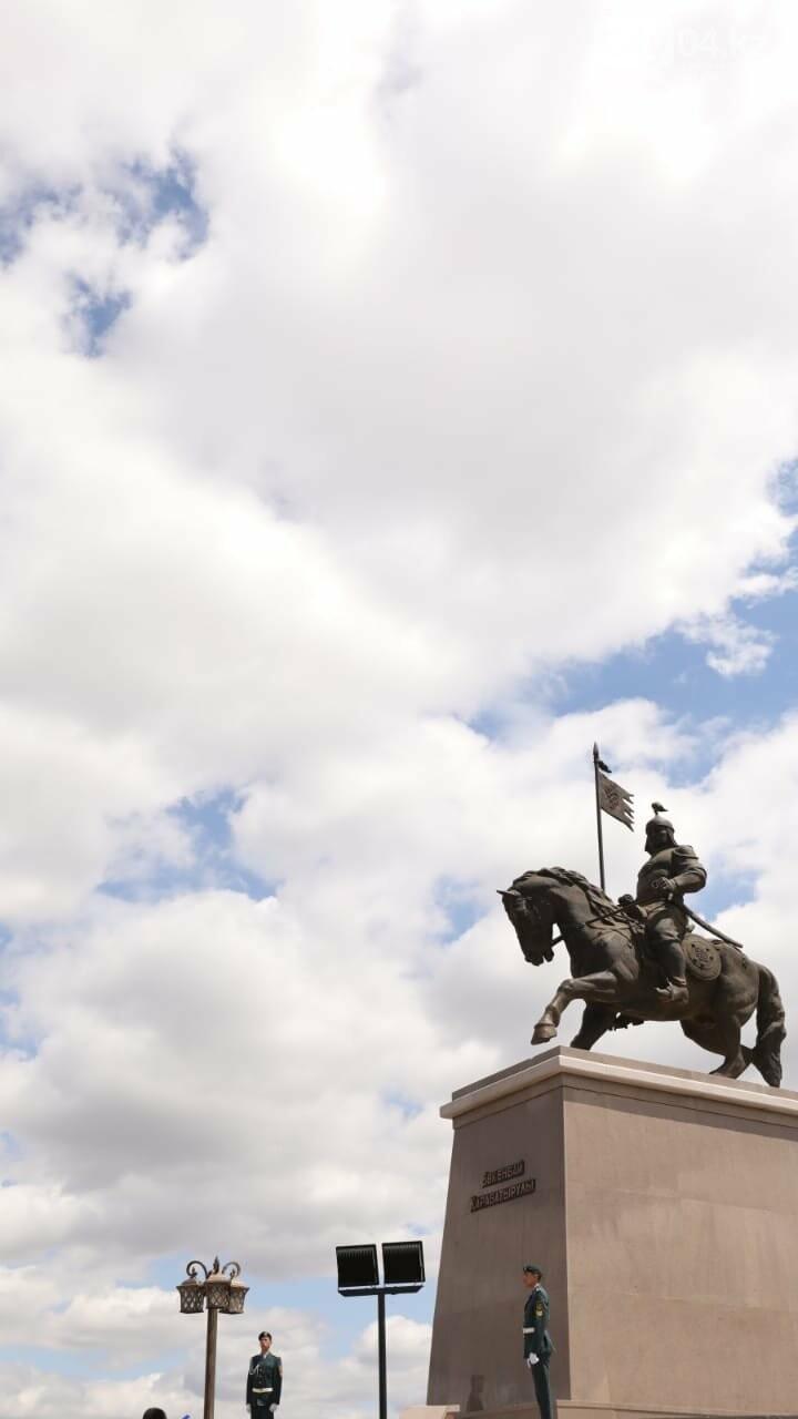 Ақтөбеде Бөкенбай батырдың  ескерткіші ашылды, фото-2