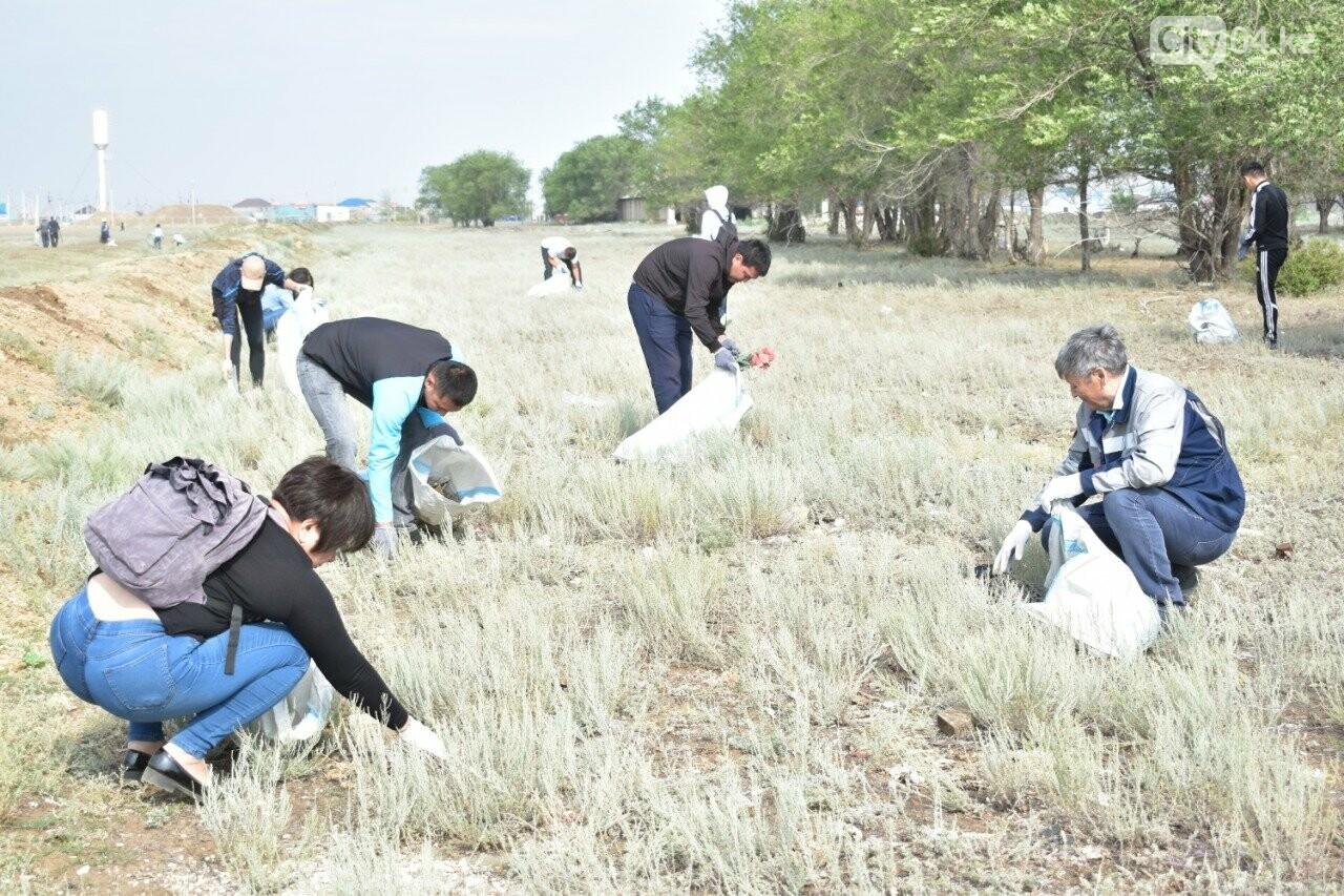 #Birge #TazaQazaqstan: Ақтөбе даласы тазарды ма? , фото-11