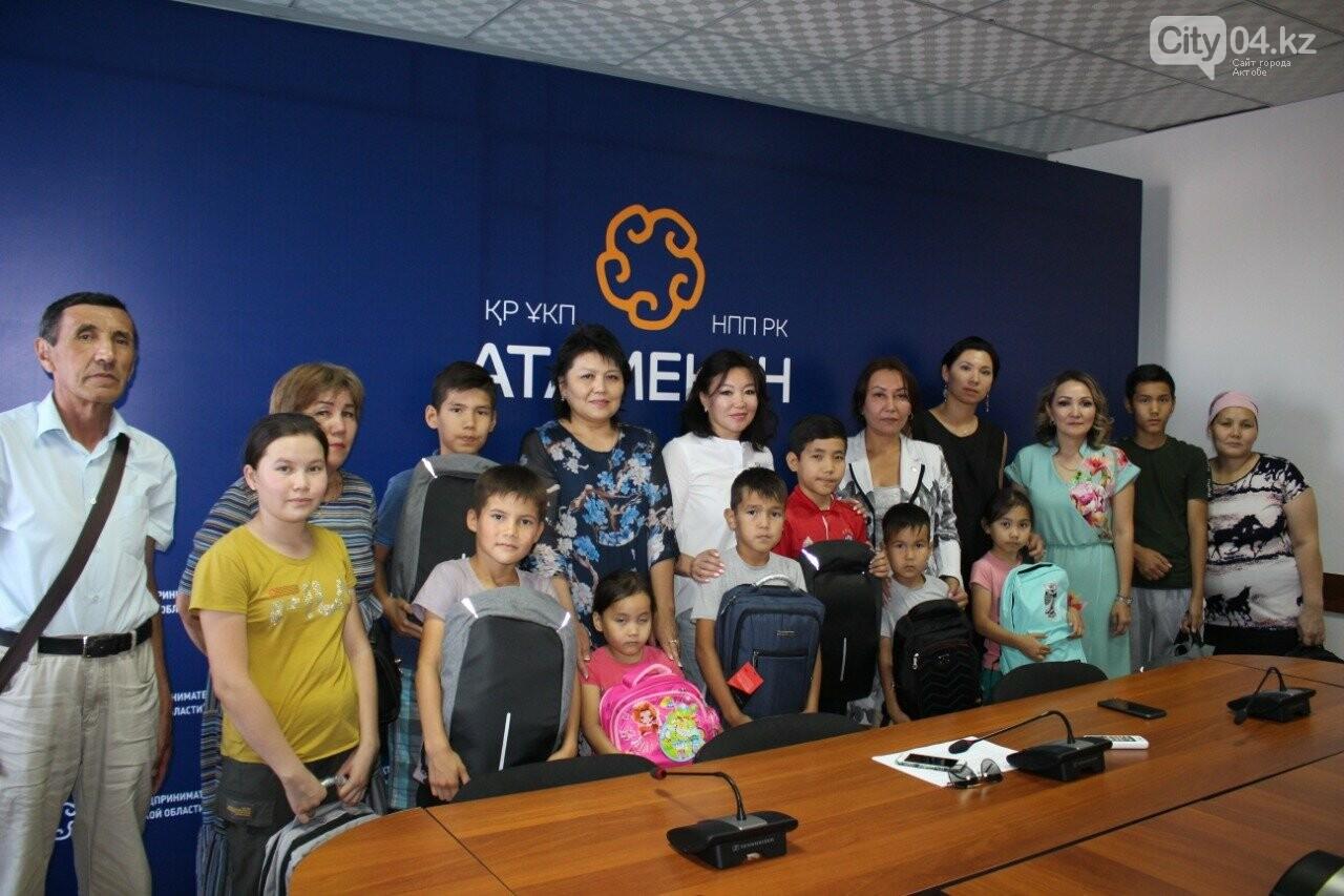 В Актобе Совет деловых женщин помог детям собраться в школу, фото-2
