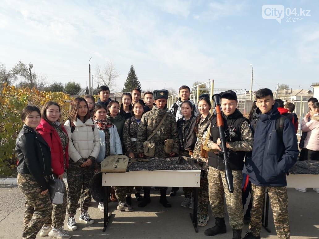 Актюбинские гвардейцы провели для школьников день открытых дверей, фото-4