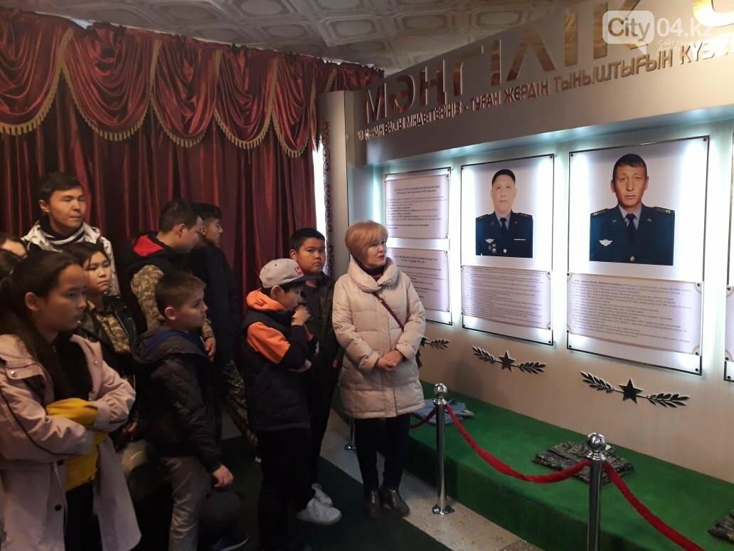 Актюбинские гвардейцы провели для школьников день открытых дверей, фото-2