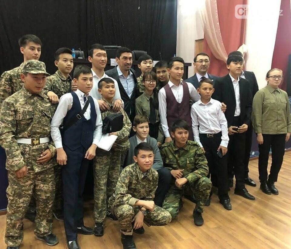 Самат Смаков встречается со студентами колледжей, фото-1