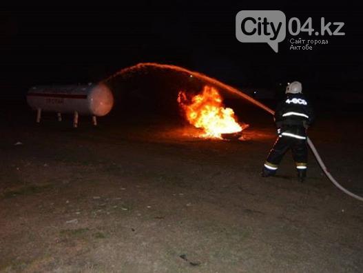 Учения, максимально приближенные к реальности, провели пожарные в Актобе, фото-3