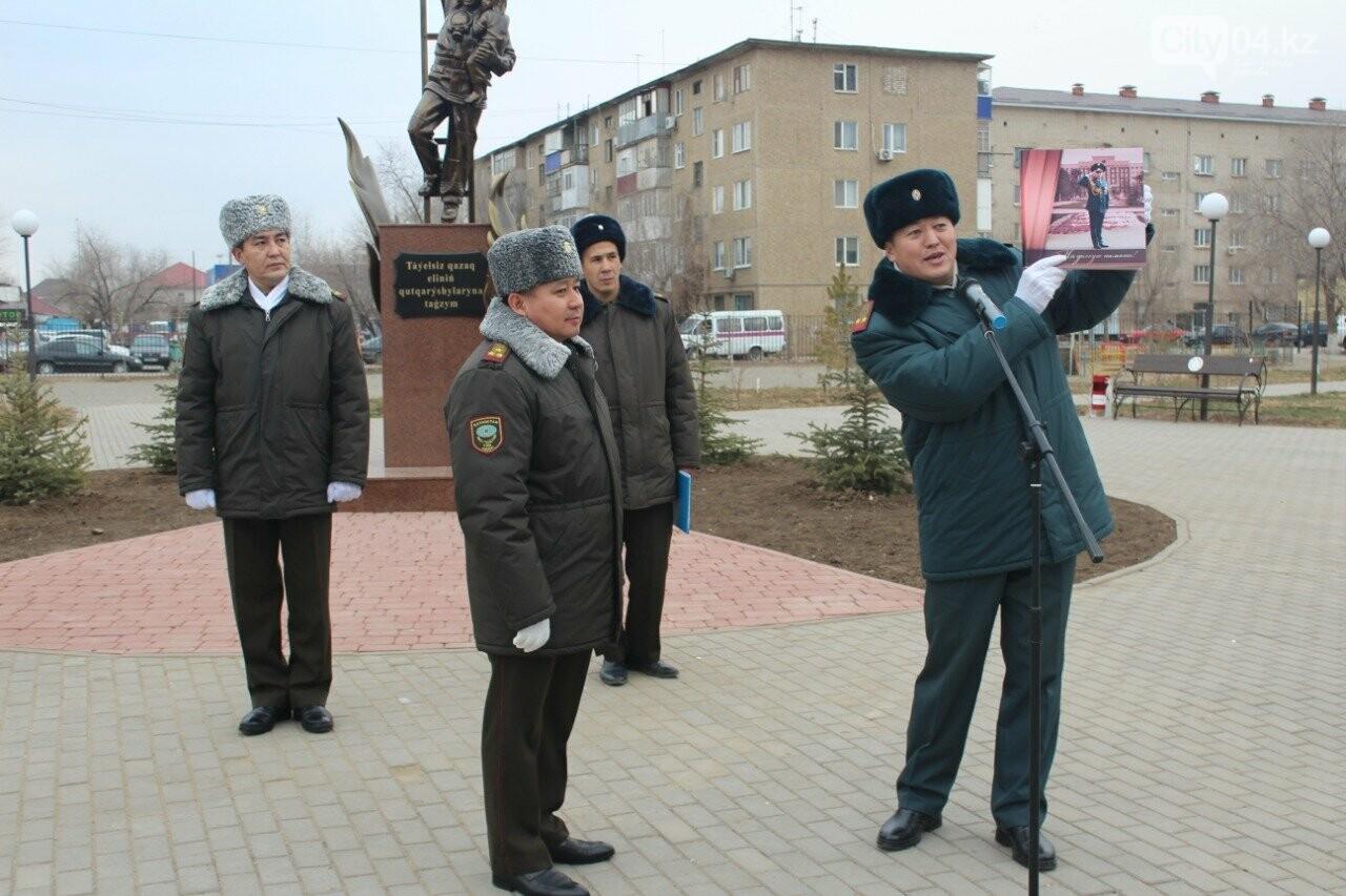 Сотрудники Актюбинского ДЧС торжественно проводили командира, фото-3