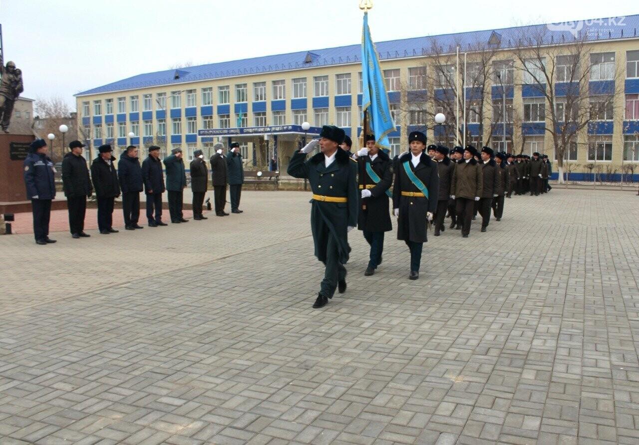 Сотрудники Актюбинского ДЧС торжественно проводили командира, фото-4