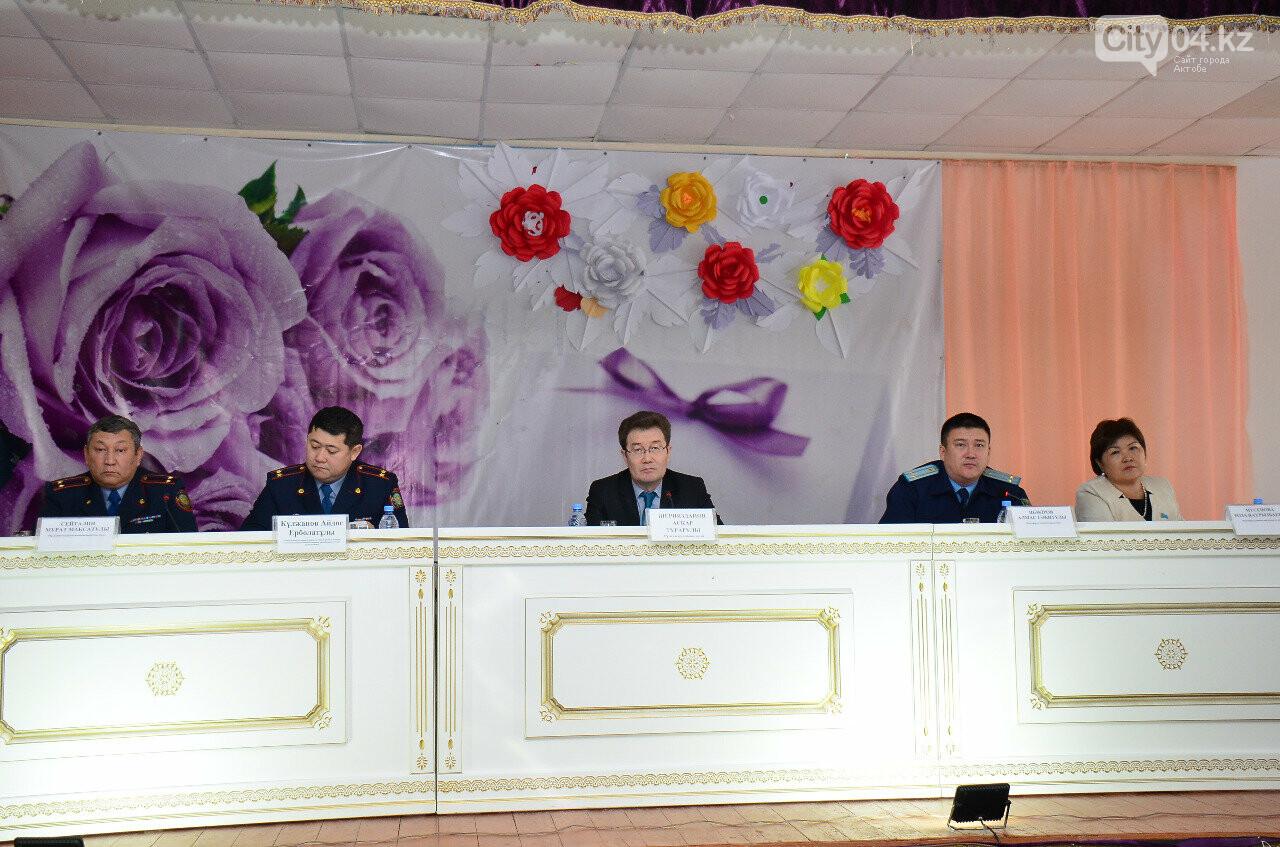 Проблему подростковой преступности обсудили в Кандыагаше, фото-1