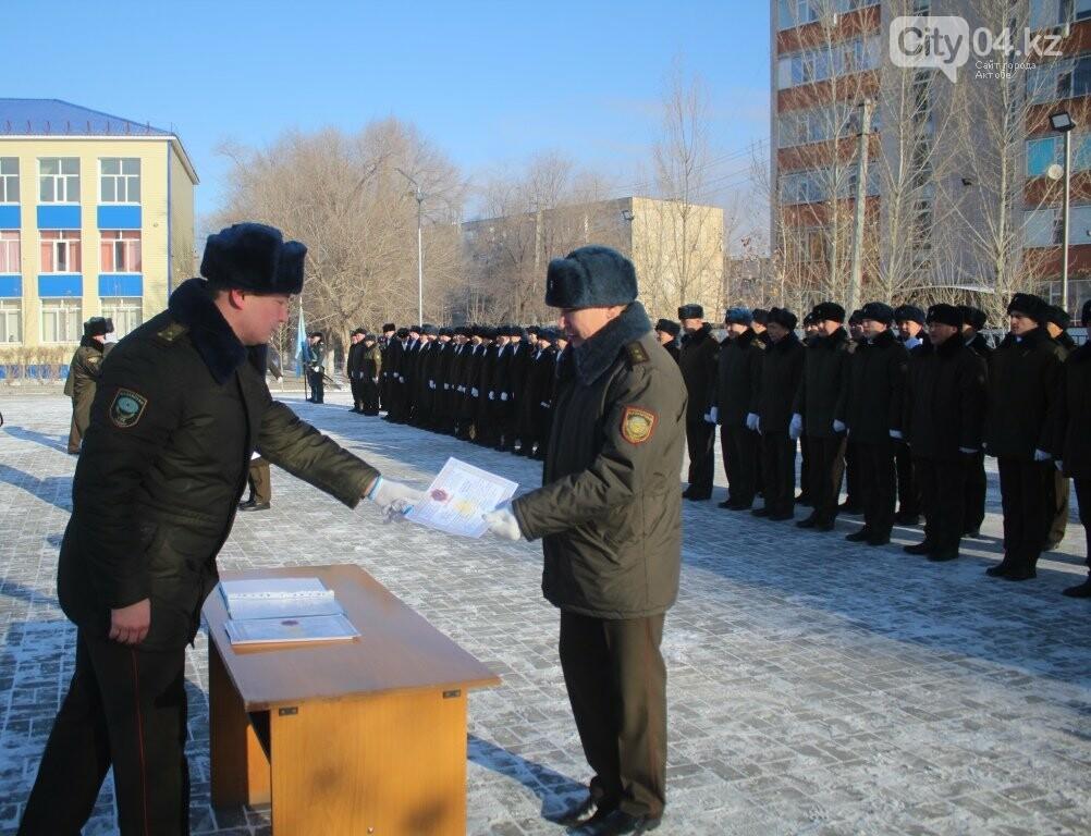 Завершены курсы переподготовки младшего начальствующего состава, фото-1