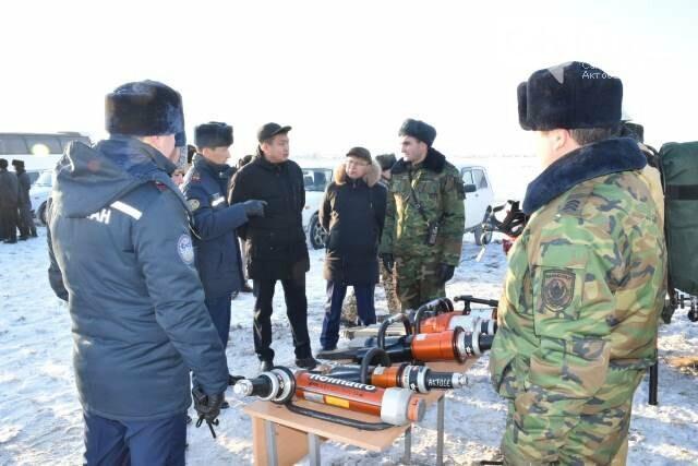 В Хромтуском районе проверили готовность служб ЧС, фото-4
