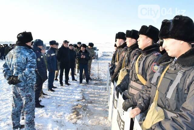 В Хромтуском районе проверили готовность служб ЧС, фото-1