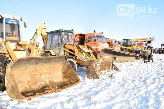 В Хромтуском районе проверили готовность служб ЧС, фото-6