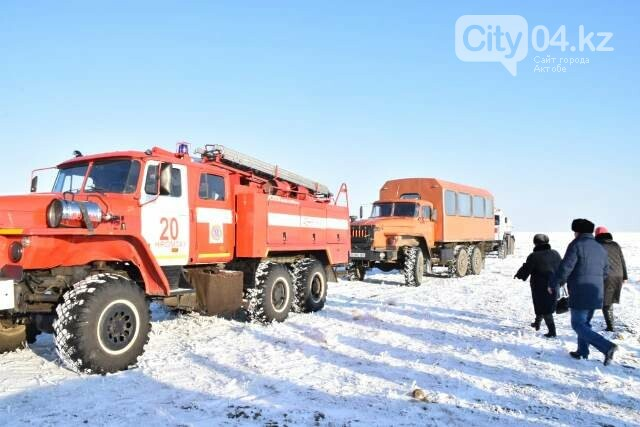 В Хромтуском районе проверили готовность служб ЧС, фото-2