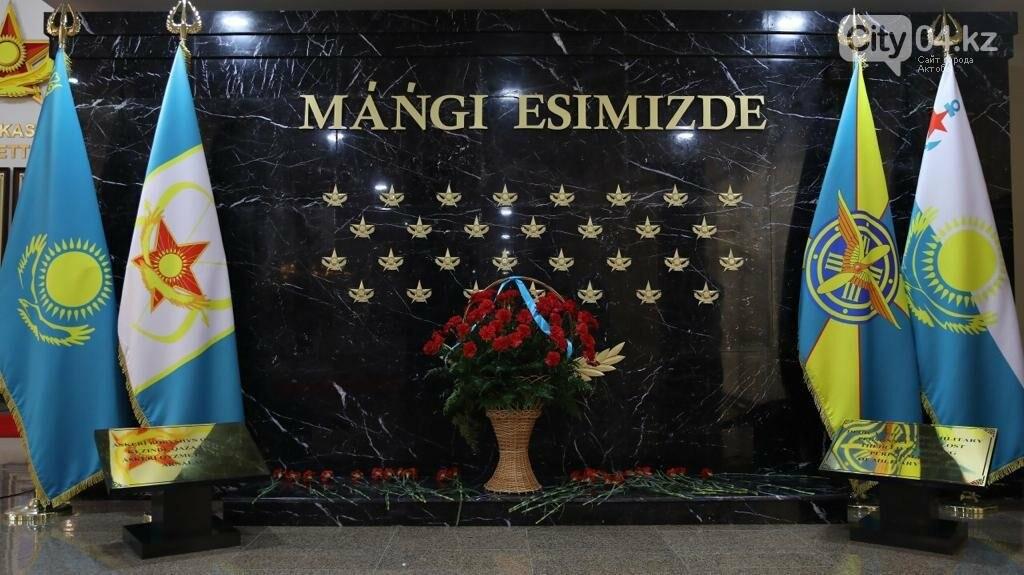 В министерстве обороны открыли мемориал погибшим воинам, фото-2