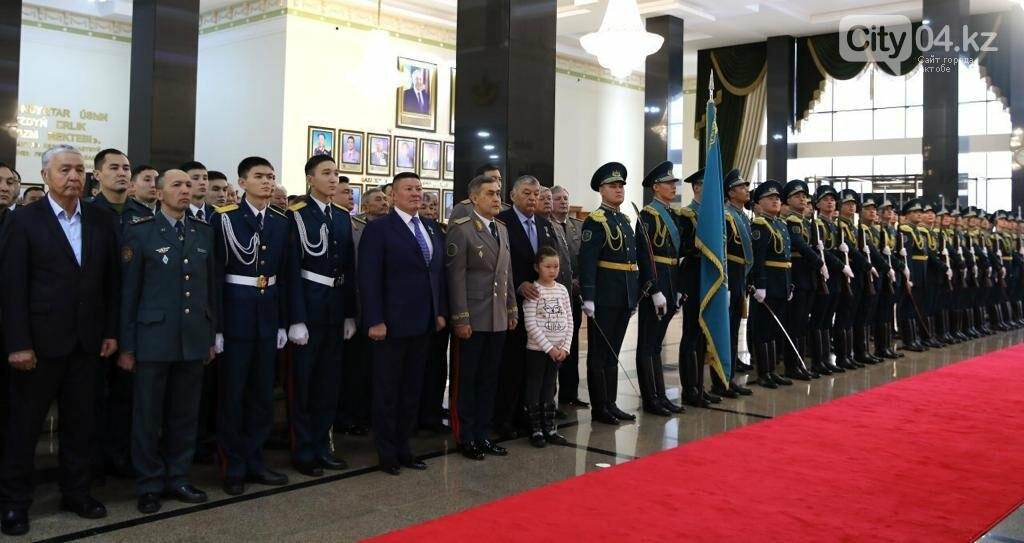 В министерстве обороны открыли мемориал погибшим воинам, фото-1