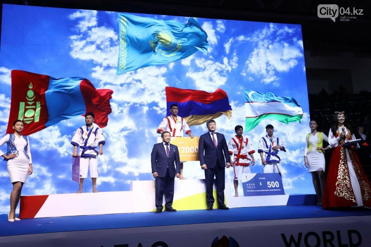 В Актобе проходит чемпионат мира по Qazaq Kuresi , фото-4