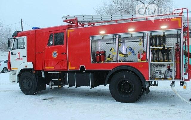 Новую технику получили пожарные Актобе, фото-1