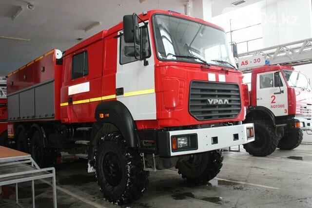Новую технику получили пожарные Актобе, фото-2