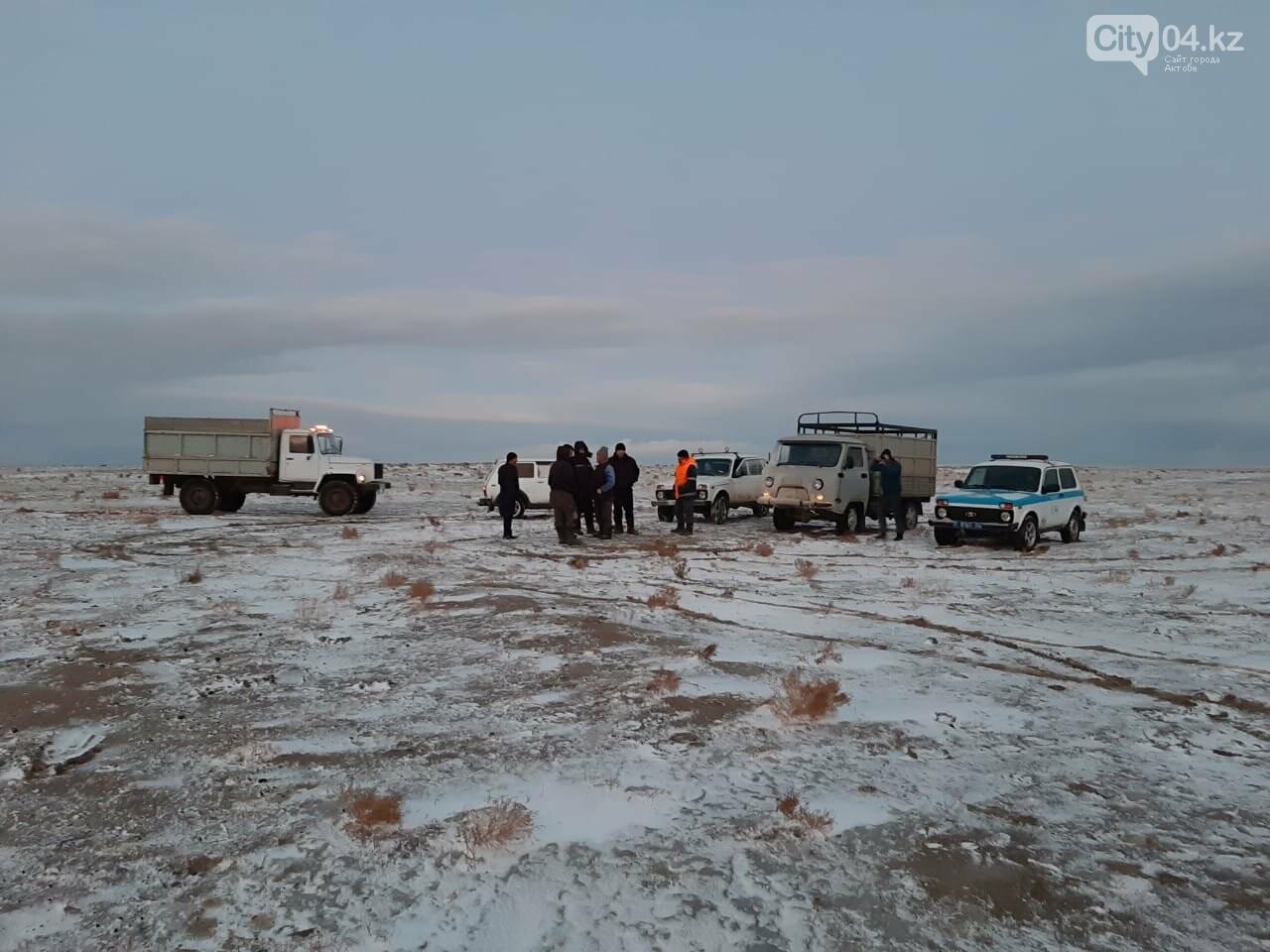 В Байганинском районе искали двоих пропавших жителей, фото-1