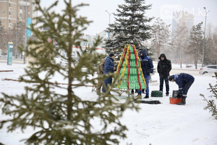 """Новогодний челендж """"Эко-шырша"""" объявили в Казахстане, фото-1"""
