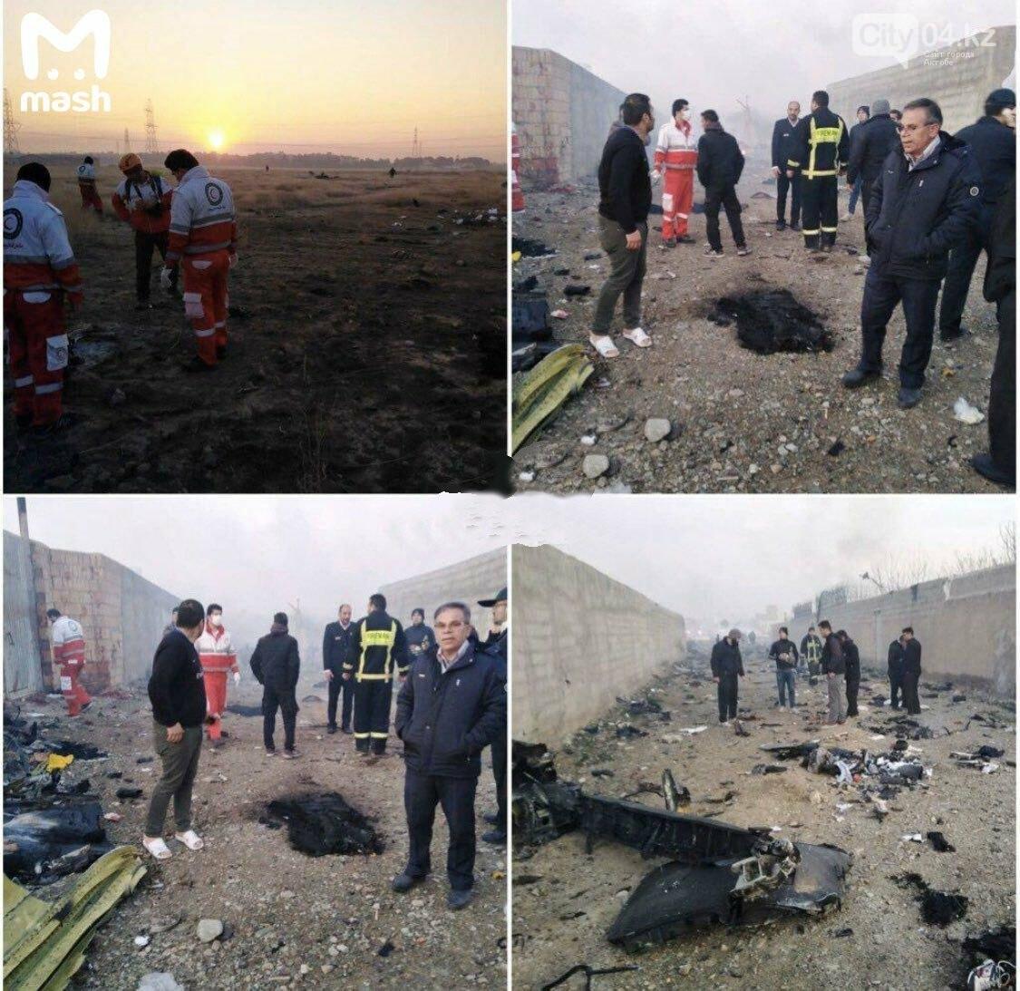 Boeing 737 украинских авиалиний разбился в Иране сразу после взлета, фото-1