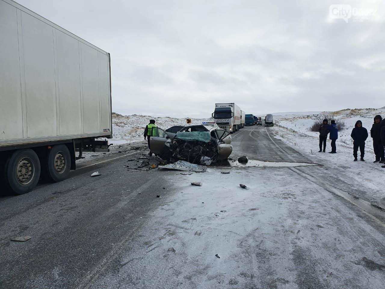 Три человека погибли в результате ДТП вблизи Иргиза, фото-2