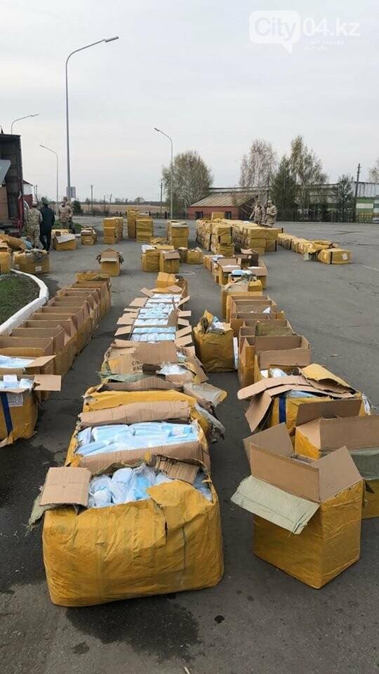Более миллиона медицинских масок пытались вывезти из Казахстана, фото-1